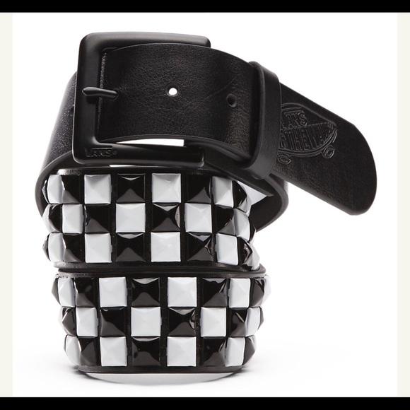 cda61b73c4 Vans Studded PU Leather Belt size L. M 5b65e4057c979ddcb5515c5d